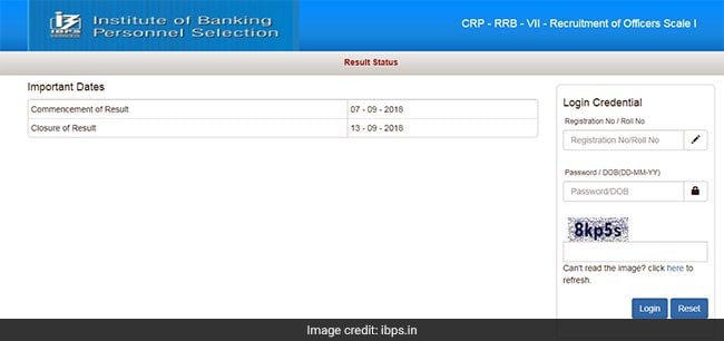 IBPS RRB, IBPS RRb Prelims Result, IBPS RRB Prelims Result 2018, ibps.in, IBPS RRB Officer Scale I prelims result
