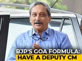 Video : Amid Goa Political Crisis, BJP May Appoint Deputy Chief Minister: Sources