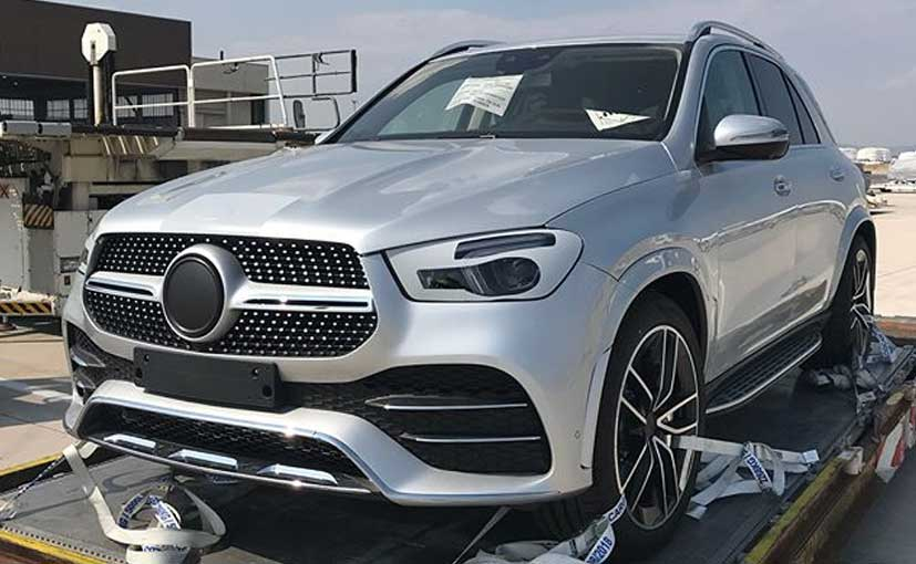 2019 mercedes benz gle suv almost revealed in new spy shots ndtv carandbike. Black Bedroom Furniture Sets. Home Design Ideas