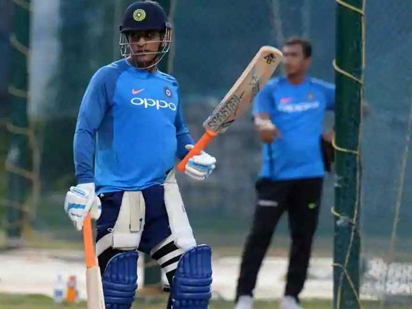 Watch: MS Dhoni Bats In Full Flow At Nets As India Set Up Pakistan Clash