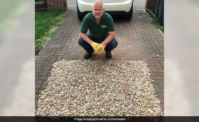 This Man Is On A Quest To Pick Up 1 Million Cigarette Butts
