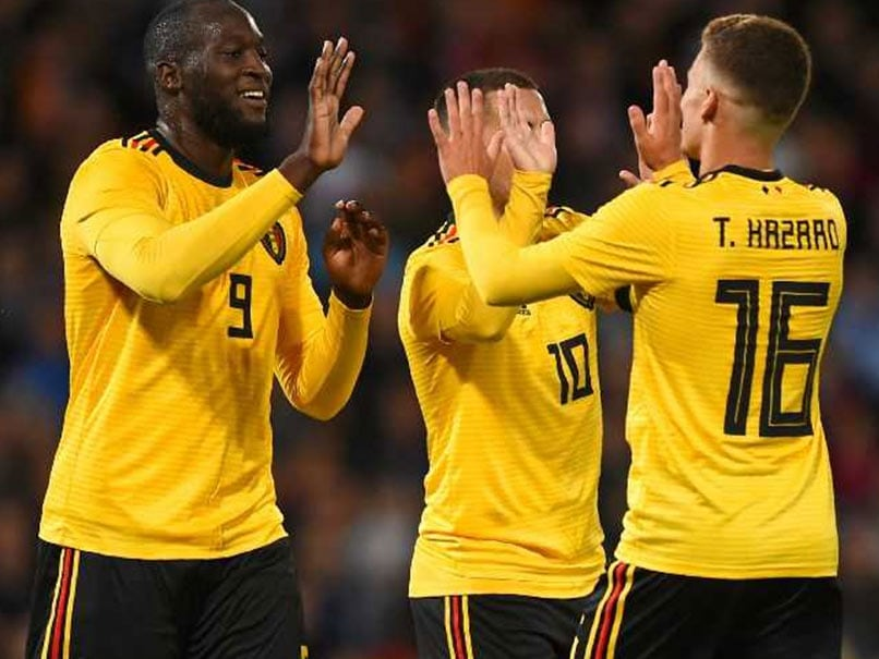Romelu Lukaku Bags Double As Belgium Sweep Iceland Aside