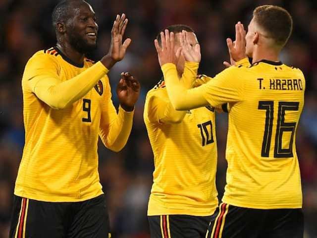 Romelu Lukaku Bags Double As Belgium Sweep Iceland Aside