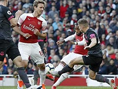 Premier League: Arsenal Ride Their Luck As Alexandre Lacazette Gem Sinks Everton