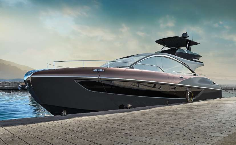 The Lexus LY 650 is the first production luxury yacht from the Japanese carmaker