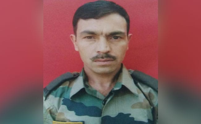 Soldier Killed By Terrorists In Kashmir Was Home After Son's Death