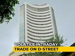 Video: Sensex Gains Some Ground After Plunging 1,100 Points
