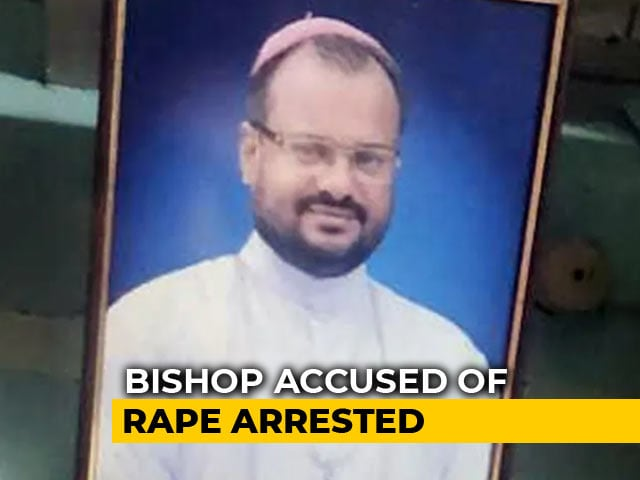 Video : Bishop Accused Of Raping Kerala Nun Arrested After 3rd Day Of Questioning