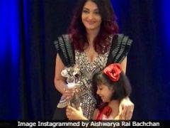 Aishwarya Rai Bachchan Collects Meryl Streep Award With Daughter Aaradhya