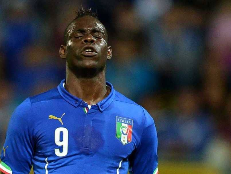Mario Balotelli Dropped For Italy