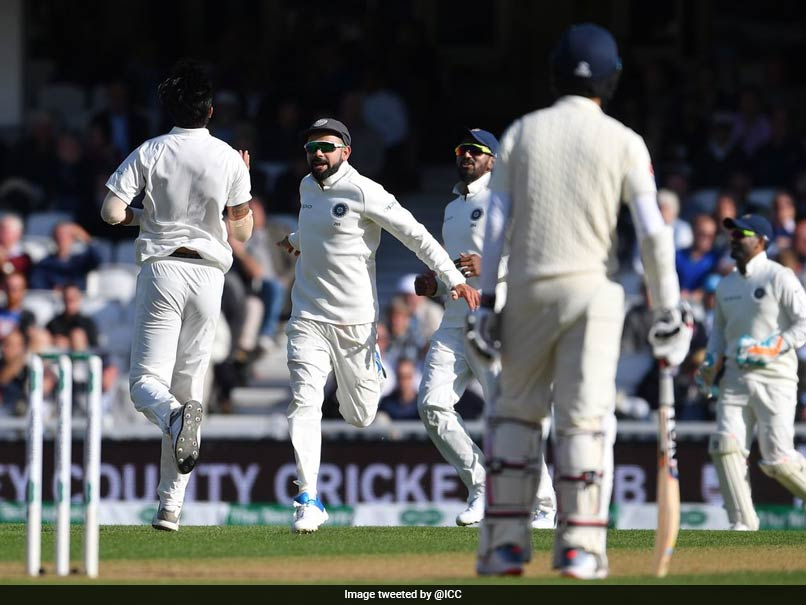 5th Test: Ishant Sharma's 3 Wickets Trigger England's Collapse On Day 1
