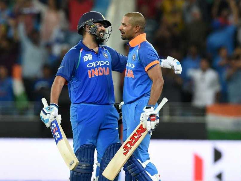 Rohit Reveals Details Of Mid-Pitch Chat With Dhawan To Coach Shastri