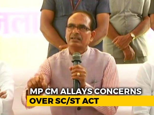 Video : No Arrests Without Probe: Shivraj Chouhan Amid Protests Over Dalit Law