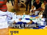 Video : जेएनयू छात्रसंघ का चल रहा चुनाव, आठ उम्मीदवारों के बीच मुकाबला