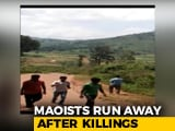 Video : Video Shows Maoists Running Away After Shooting Dead Andhra Lawmaker