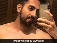 'All Organic': Ayushmann Khurrana Reveals The Secret Behind His Lean Torso With A Bathroom Selfie