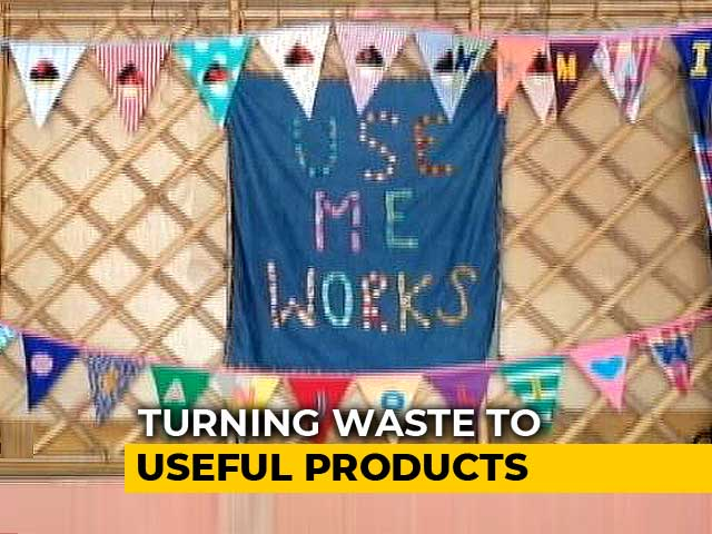 Video : This Delhi Woman Is Teaching India The Art Of Upcycling
