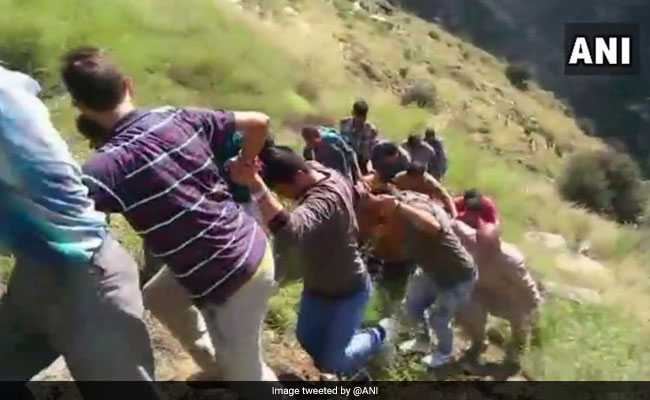17 Dead As Mini Bus Plunges Over 300 Feet In Jammu And Kashmir's Kishtwar