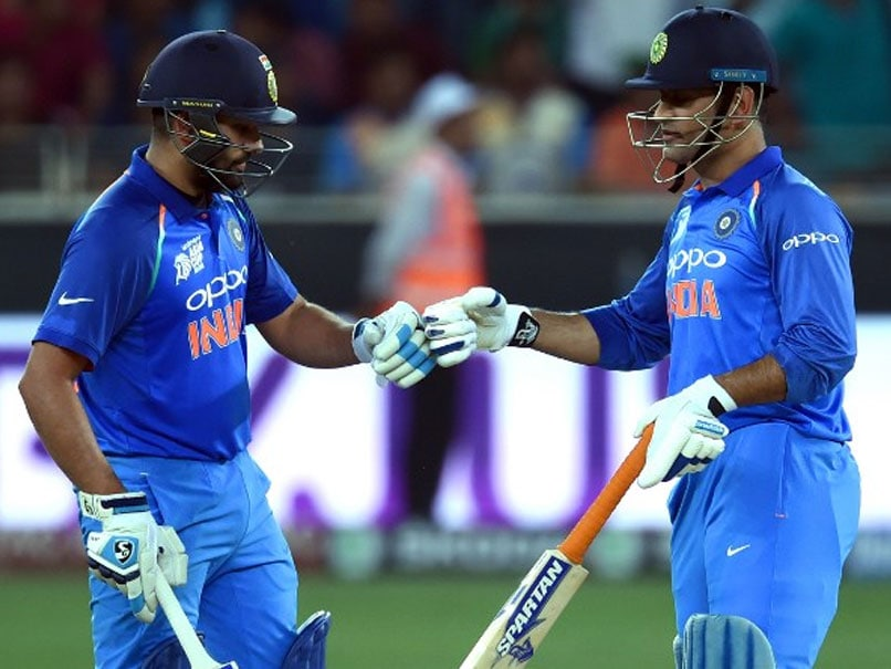 Rohit Sharma Equals MS Dhoni's Stunning Record For India In ODIs