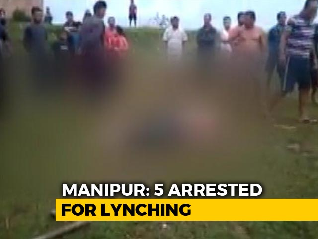 Video : Man Beaten To Death On Suspicion Of Vehicle Theft In Manipur, 5 Arrested