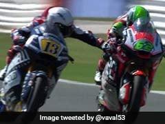 Watch: Moto2 Rider Banned After Grabbing Rival's Brake While Racing At 220kph