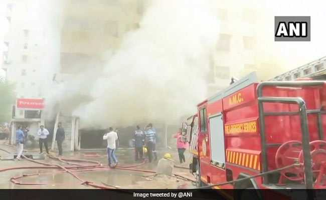 Massive Fire Breaks Out At Tyre Godown In Ahmedabad, No Casualties