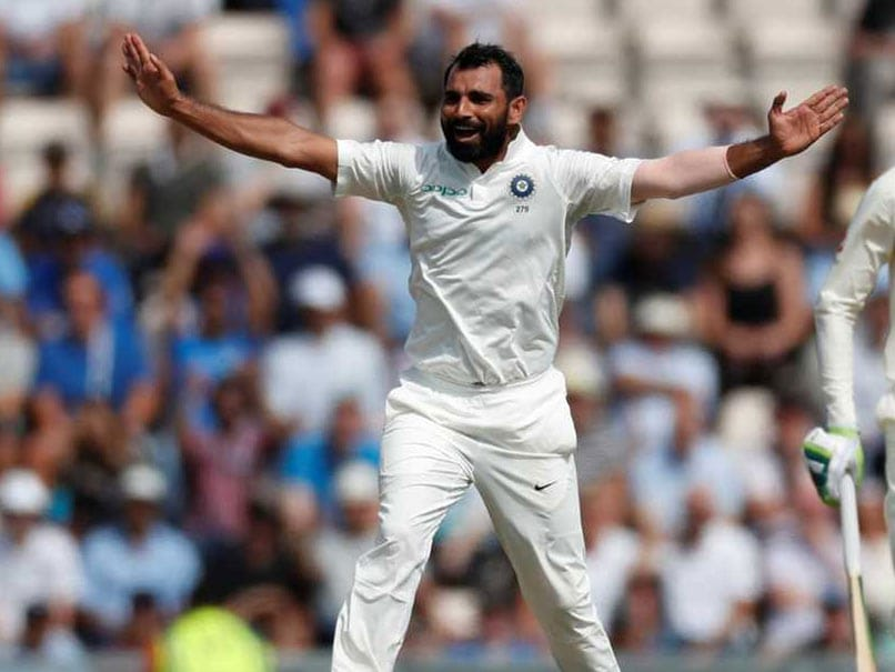 Mohammed Shami benefitted from watching videos of James Anderson and Stuart Broad