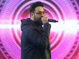 Video : Rapper Badshah Performs His Hit Song <i>Tareefan</i>