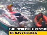 Video : Video Of Abhilash Tomy's Precarious Rescue, Injured And Stranded At Sea