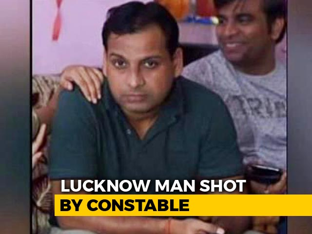 Video : Tech Executive Shot Dead In SUV, 2 Lucknow Cops Arrested