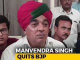 Video: Jaswant Singh's Son Manvendra Quits BJP Ahead Of Rajasthan Polls