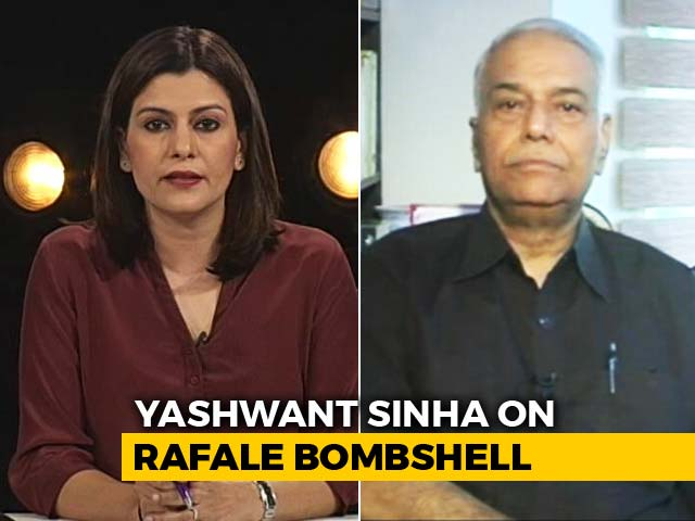 Video : Seems PM Rode Roughshod Over Procedure For Rafale Deal: Yashwant Sinha