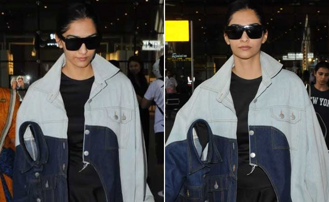 Sonam Kapoor Wears Double Denim Jackets But Not In The Way You'd Expect