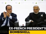 Video : Francois Hollande Stands By Statement On Rafale, His Office Tells NDTV