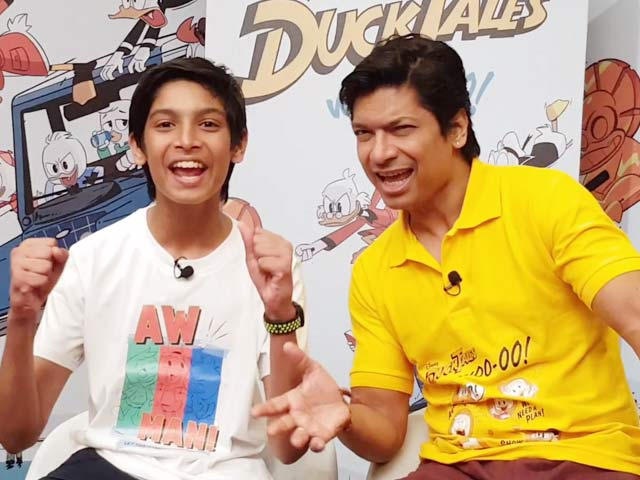 Shaan & His Son Shubh Recreate The DuckTales Title Track