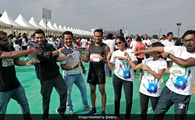 Wipro Techies Participate In Marathon Run Across 125 Cities, 34 Countries