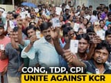 Video : Congress, TDP, Left Form Alliance In Telangana, Demand President's Rule