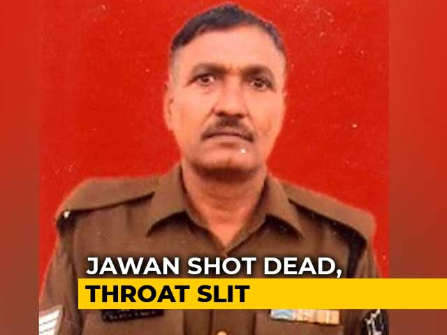 Video : BSF Soldier's Throat Slit By Pak Troops Near Jammu, India Complains
