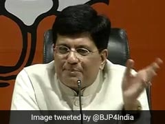 """Railways Will Employ Over Four Lakh People By 2021"": Piyush Goyal"