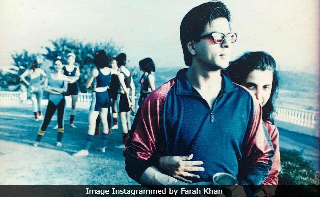 Ever Seen Shah Rukh Khan Wearing Pink Leotards? Farah Khan Shares Throwback Pic