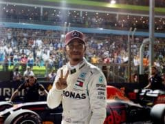 F1: Hamilton Storms To Pole In Singapore GP Beating Verstappen