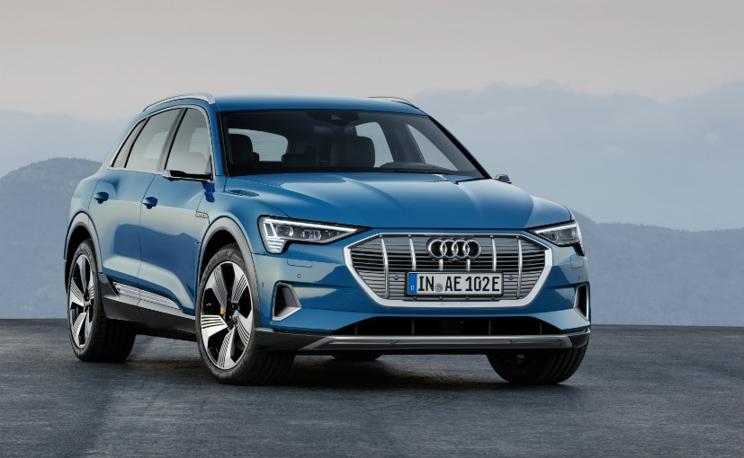 The Audi E-Tron is the company's first ever fully electric vehicle