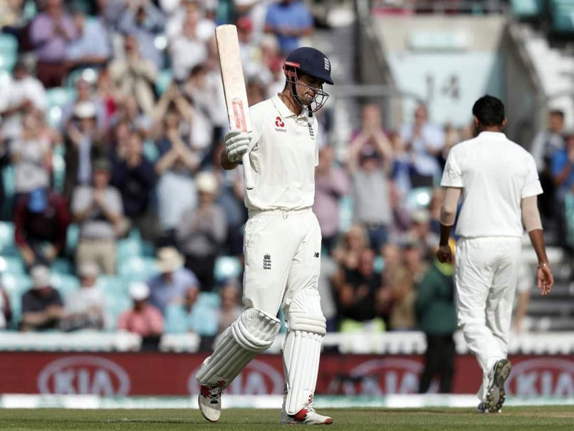 Alastair Cook Scores 33rd Test Ton In Farewell Match For England vs India