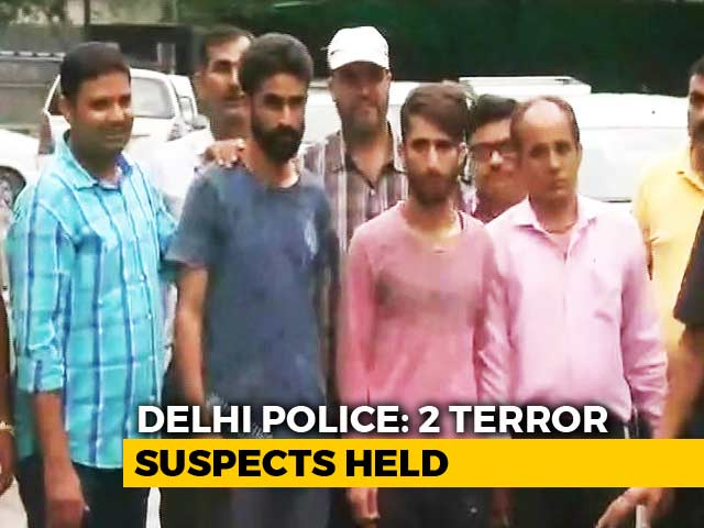Video : 2 Suspected ISIS Terrorists Arrested Near Delhi's Red Fort, Says Police