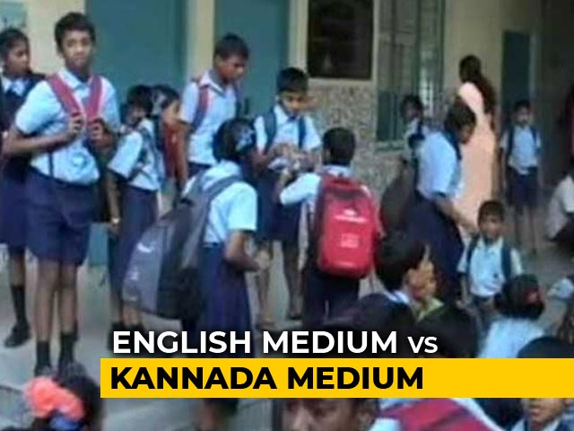 Video : 1,000 Karnataka Schools To Turn English Medium By Year-End