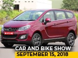 Video: Mahindra Marazzo, Nexon vs Brezza AMT, SIAM Meet