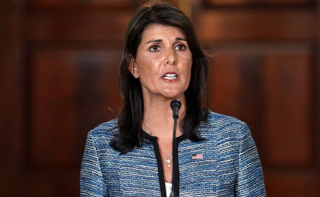 'US Shouldn't Even Give Pak A Dollar Till It Acts On Terror': Nikki Haley