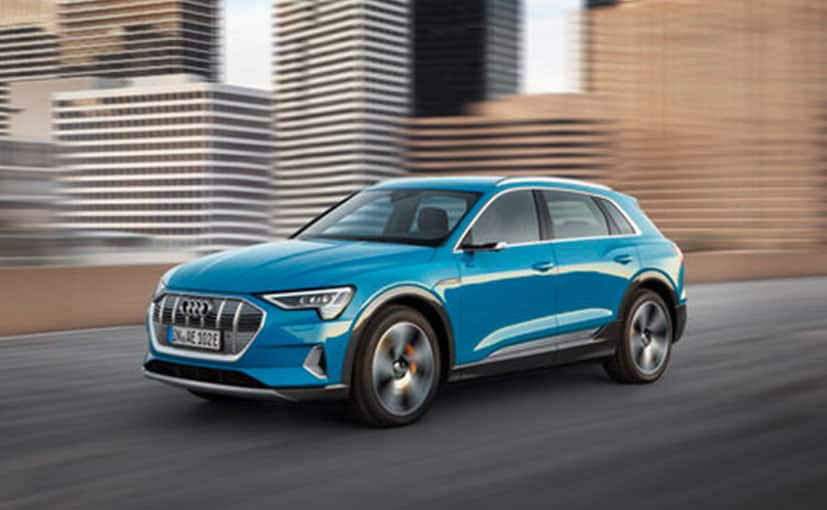 audi e tron electric suv unveiled at 2018 audi global summit to come to india in 2019 ndtv. Black Bedroom Furniture Sets. Home Design Ideas