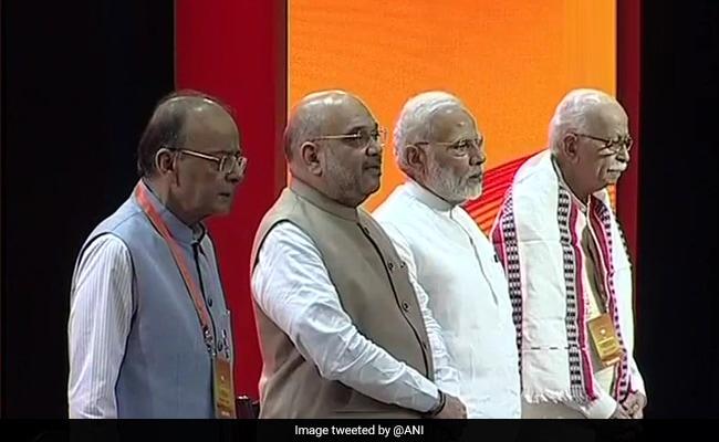 BJP की बैठक में बोले अमित शाह- अगले 7 महीने सिर्फ़ दो चीज़ें याद रखें 'भारत माता' और 'कमल का फूल', 10 बड़ी बातें