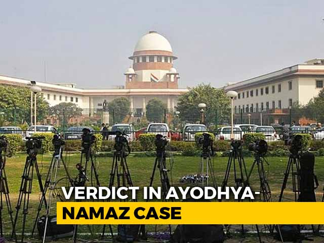 Video : A Top Court Decision Today Means Ayodhya Case Hearings From October 29